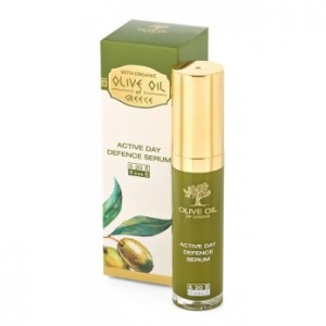 Active day defence serum SPF 20 Olive Oil of Greece Biofresh