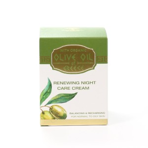 Renewing night care cream for normal to oily skin Olive Oil of Greece Biofresh