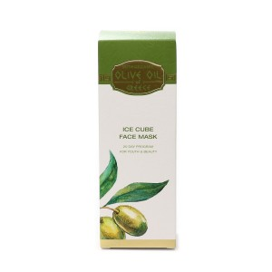 Ice cube face mask Olive Oil of Greece Biofresh