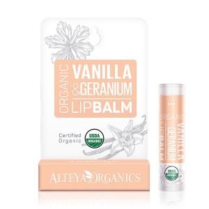 Био органичен балсам за устни с ванилия и здравец Alteya Organics