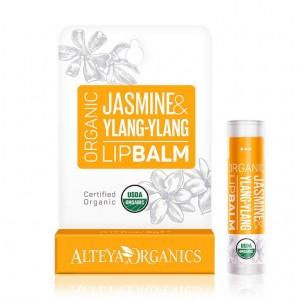 Био органичен балсам за устни с жасмин и иланг-иланг Alteya Organics