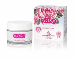 Night face cream with natural Bulgarian rose oil Bulgarian Rose Karlovo