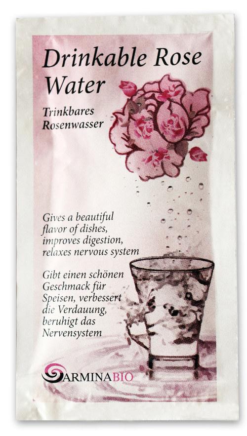 Натурална розова вода за пиене Армина