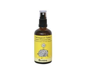 Bio chamomile flower water with spray Armina Bio