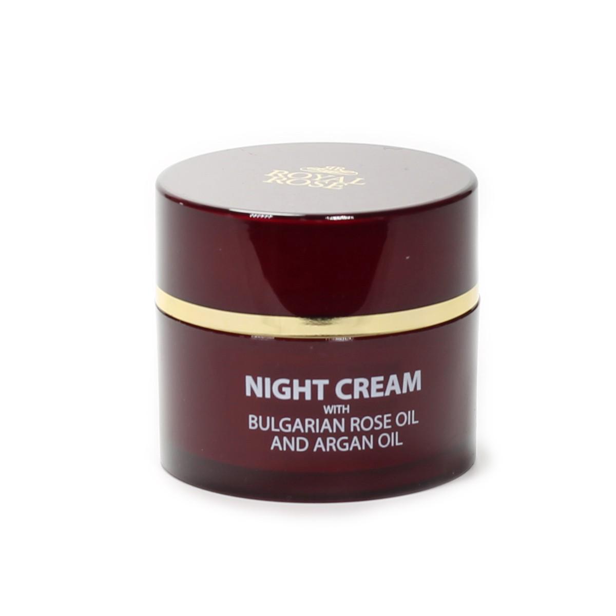 Night cream with Bulgarian rose oil Royal Rose Biofresh