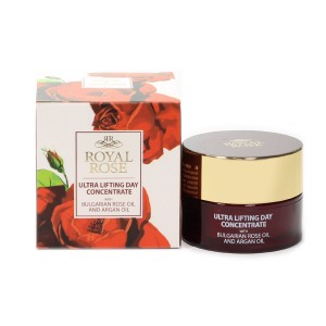 Ultralifting day concentrate with Bulgarian rose oil Royal Rose Biofresh