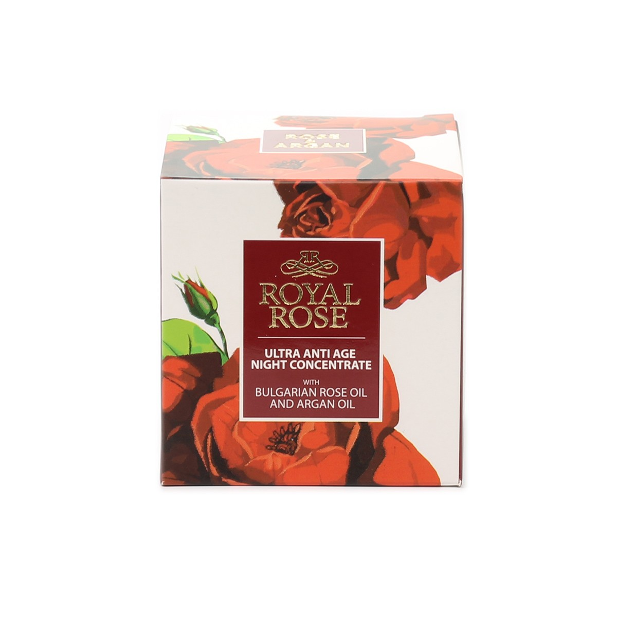 Ultra anti-age night concentrate with Bulgarian rose oil Royal Rose Biofresh