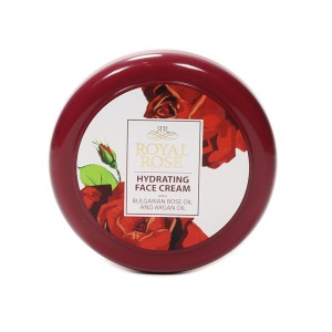 Hydrating face cream with Bulgarian rose oil Royal Rose Biofresh
