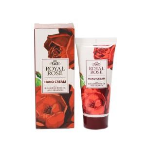 Hand cream with 100% pure Bulgarian rose oil Royal Rose Biofresh