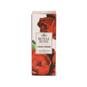 Hand cream with 100% pure Bulgarian rose oil Royal Rose Biofresh