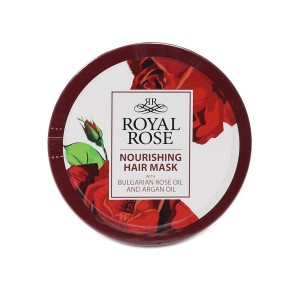 Hair repair mask with Bulgarian rose oil Royal Rose Biofresh