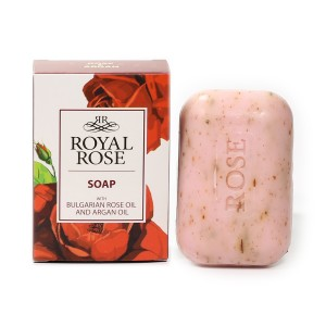Natural cosmetic soap with Bulgarian rose oil Royal Rose Biofresh