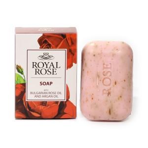 Сапун за тяло с българско розово масло Royal Rose Biofresh