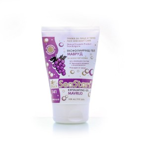 Mineralizing exfoliating gel for face and body Mavrud Black Sea Stars