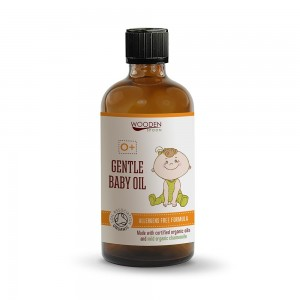 Nourishing baby massage oil Wooden Spoon