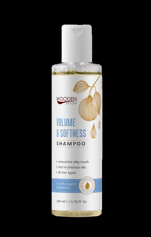 Hair shampoo Volume & Softness Wooden Spoon