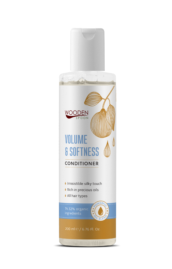 Hair conditioner Volume & Softness Wooden Spoon