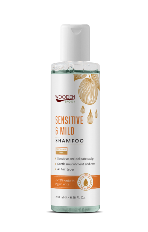 Hair shampoo for sensitive scalp Sensitive & Mild Wooden Spoon