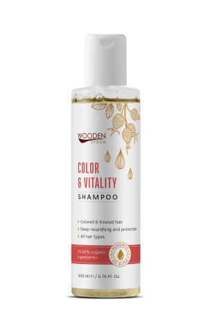 Shampoo for colored hair Sensitive & Mild Wooden Spoon
