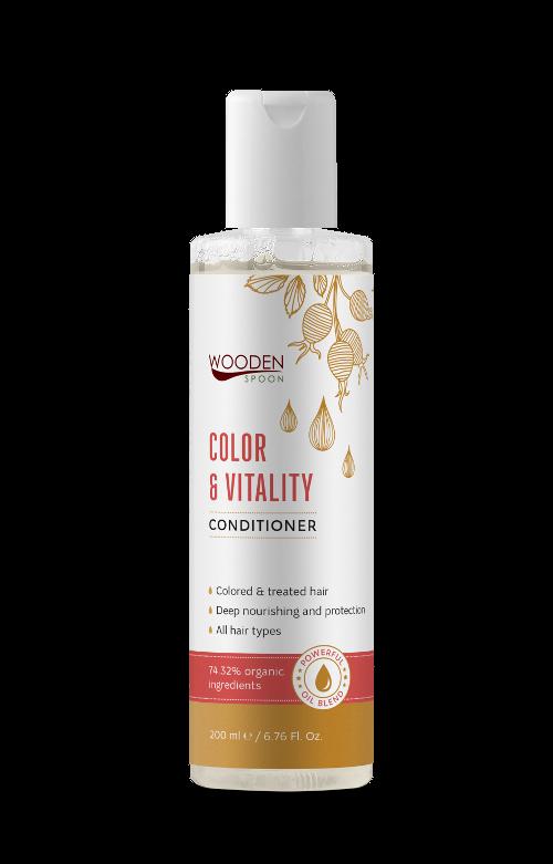Балсам за боядисана коса Color & Vitality Wooden Spoon