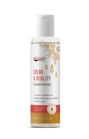 Conditioner for colored hair Color & Vitality Wooden Spoon