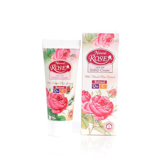 Интензивен крем за ръце с Q10 Natural Rose Arsy Cosmetics