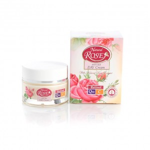 Day face cream with Q10 Natural Rose Arsy Cosmetics