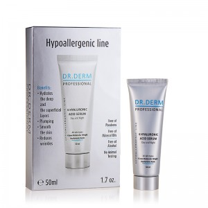 4 Hyaluronic serum for face Dr. Derm Professional