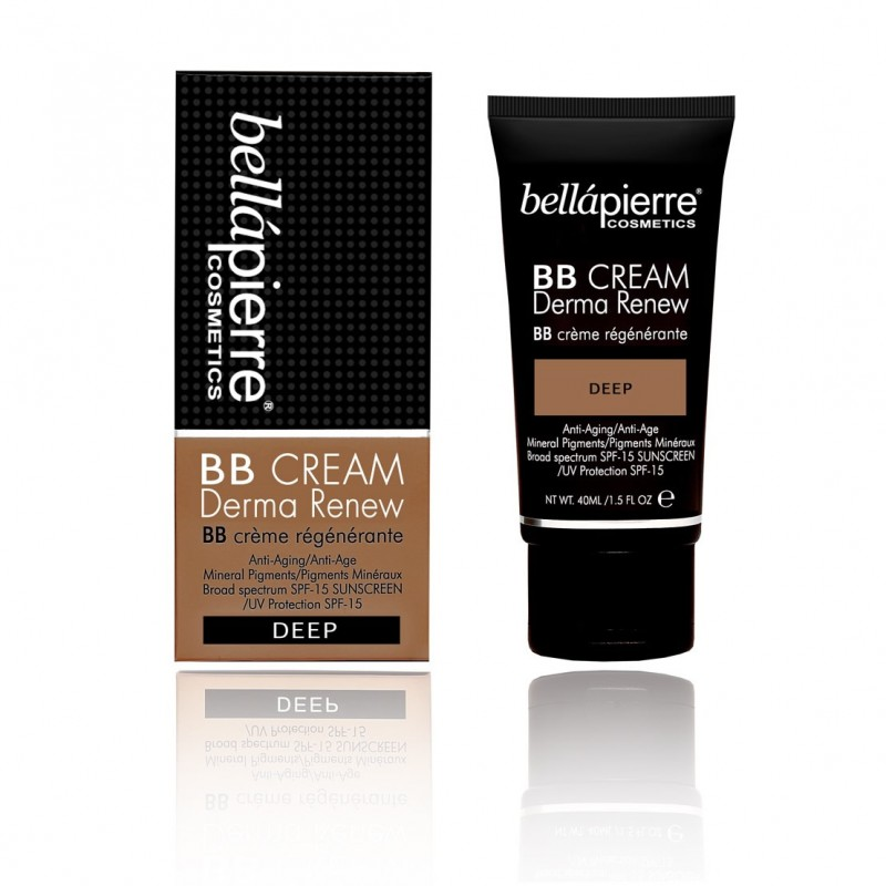 Derma renew BB cream Deep Bellapierre Cosmetics