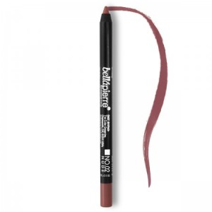 Waterproof mineral lip gel-liner Nude 002 Bellapierre Cosmetics