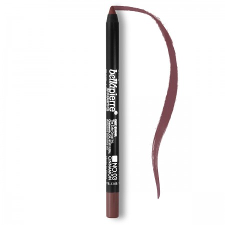 Waterproof mineral lip gel-liner Cinnamon 003 Bellapierre Cosmetics