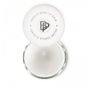 Clear vanilla bean lip balm Bellapierre Cosmetics