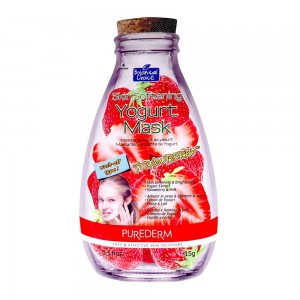 Skin softening face mask with yoghurt and strawberry extracts Purederm