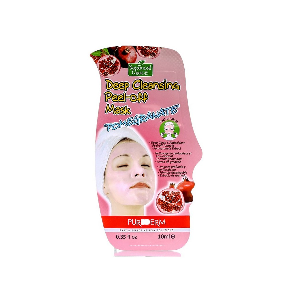 Deep cleansing peel-off face mask with pomegranate extract Purederm