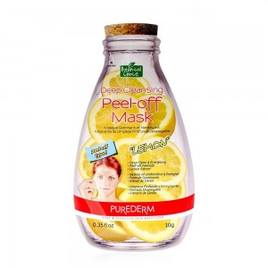 Deep cleansing peel-off face mask with lemon extract Purederm