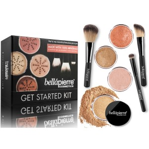 Get Started Kit Dark Bellapierre Cosmetics