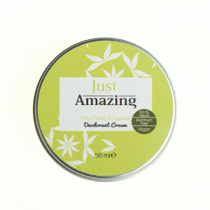 100% natural deodorant Just Amazing