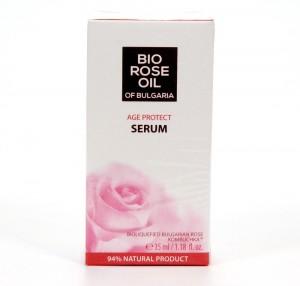 Age protect face serum Bio Rose Oil of Bulgaria