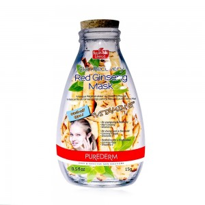 Skin recovery red ginseng face mask with Vitamin E  Purederm