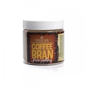 Coffee bran for face Hristina Cosmetics
