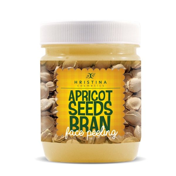 Face scrub with apricot seeds Hristina Cosmetics
