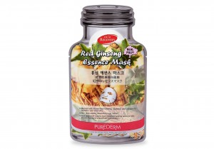 Skin recovery face mask with red ginseng essence Purederm
