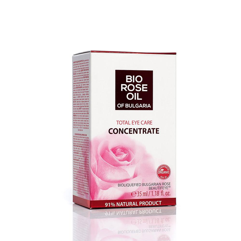 Gentle eye contour concentrate Bio Rose Oil of Bulgaria Biofresh