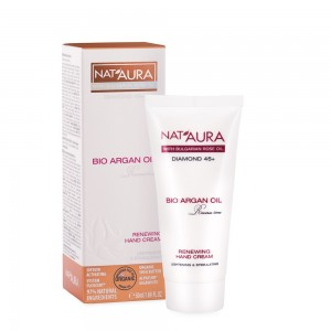 Renewing hand cream Nat'Aura Diamond 45+ Biofresh