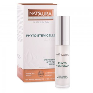 Energising anti-age serum for face Nat'Aura Platinum 30+ Biofresh