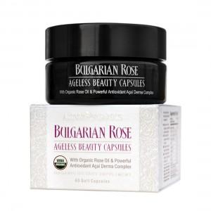 Bio organic capsules with Bulgarian rose oil Alteya Organics