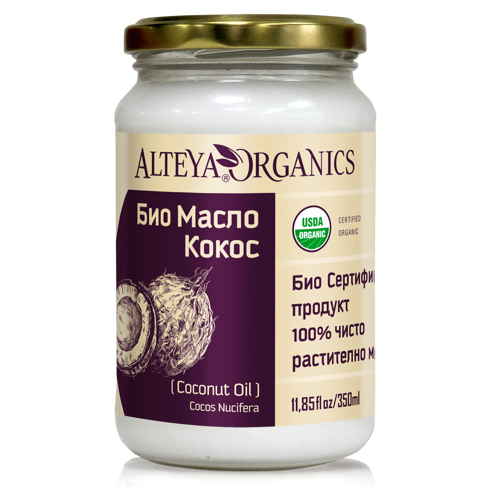 Bio organic coconut oil Alteya Organics 350 ml.