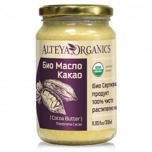 Bio organic cocoa butter Alteya Organics 350 ml.