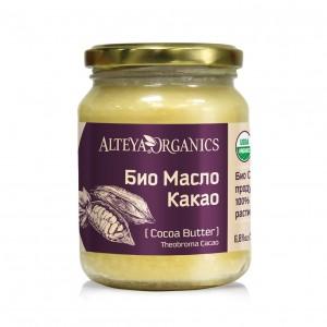 Bio organic cocoa butter Alteya Organics 200 ml.