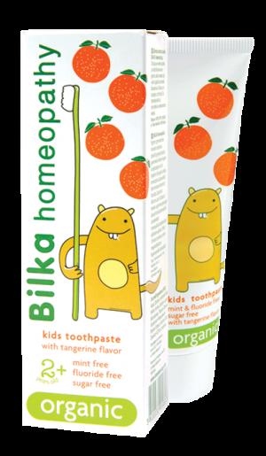 Детска крем-паста за зъби Bilka Homeopathy 2+